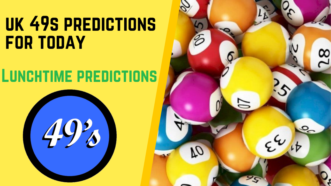 UK LUNCHTIME PREDICTIONS